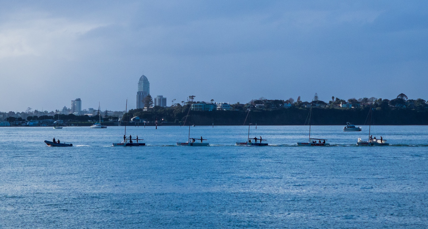 Auckland Harbour Boat Convoy - Image by Aucklife.com